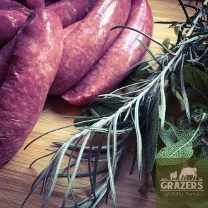 South Devon Steak Sausages