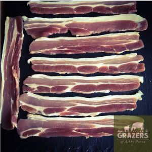 Dry-Cured Streaky Bacon Unsmoked