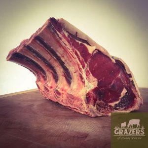 Christmas Rib of Beef on the Bone