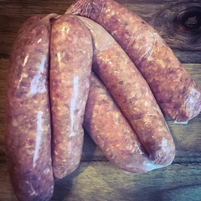 BeefTomato&Chilli Sausages